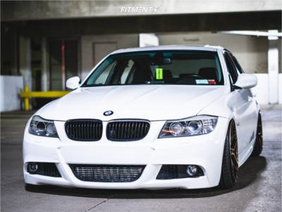 2009 BMW 335i xDrive - 19x9.5 20mm - Rohana Rfx11 - Air Suspension - 225/35R19
