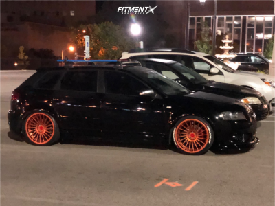 2007 Audi A3 - 19x8.5 35mm - Rotiform Ind-t - Coilovers - 215/45R19