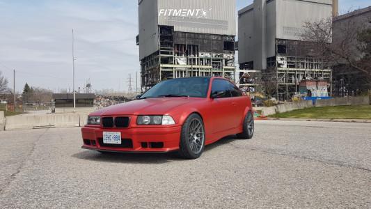 1998 BMW 323i - 18x9.5 22mm - VMR V710 - Coilovers - 265/35R18