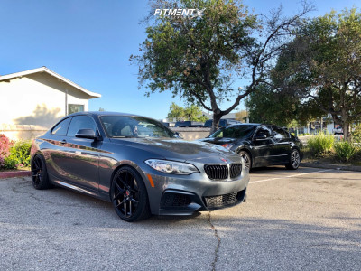 2015 BMW 228i - 19x8.5 35mm - TSW Tabac - Lowering Springs - 225/35R19