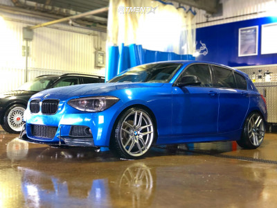 2015 BMW 320i - 19x8.5 38mm - ABS F31 - Lowering Springs - 225/35R19