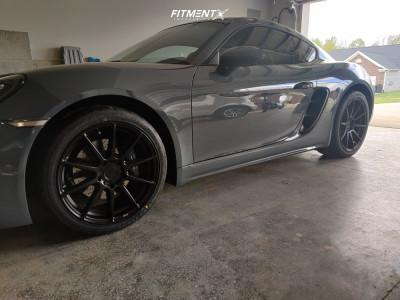 2018 Porsche 718 Cayman - 19x8.5 48mm - Niche Essen - Lowering Springs - 245/40R19
