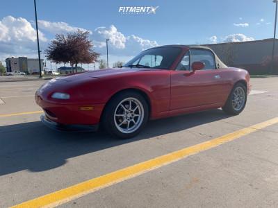 1991 Mazda MX-5 Miata - 15x6.5 40mm - Konig Helium - Coilovers - 195/50R15