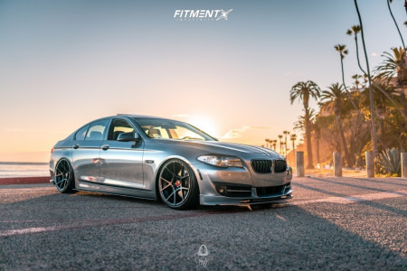 2013 BMW 528i - 20x9.5 30mm - Rotiform Kps - Coilovers - 245/35R20