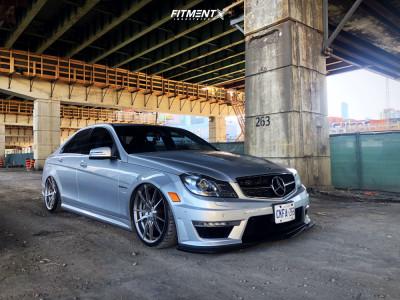 2012 Mercedes-Benz C63 AMG - 19x8.5 35mm - Rohana Rf2 - Coilovers - 225/35R19