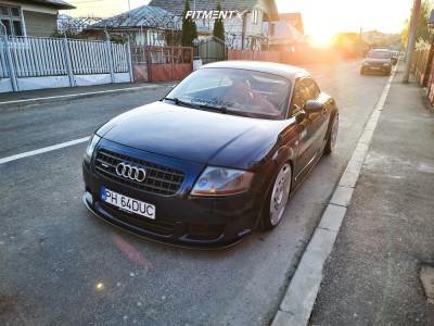 2004 Audi TT Quattro - 19x8.5 35mm - Messer Me09-1 - Coilovers - 215/35R19