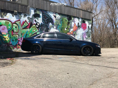 2011 Audi A4 - 18x9 40mm - Fast Wheels Fc04 - Coilovers - 245/40R18