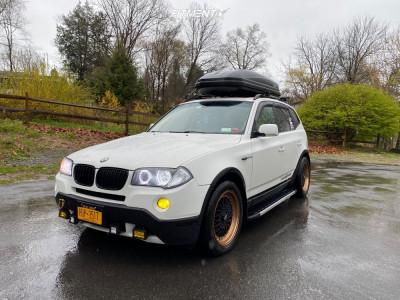 2008 BMW X3 - 18x8.5 35mm - BBS Rs - Lowering Springs - 235/50R18