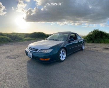 1997 Acura CL - 16x8 25mm - JNC Jnc010 - Coilovers - 195/45R16