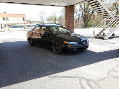 2006 Acura TSX - 18x9 12mm - Kansei Knp - Coilovers - 215/40R18