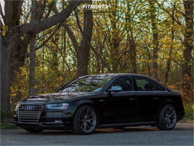 2015 Audi S4 - 19x9.5 35mm - Aodhan Ls007 - Coilovers - 255/35R19