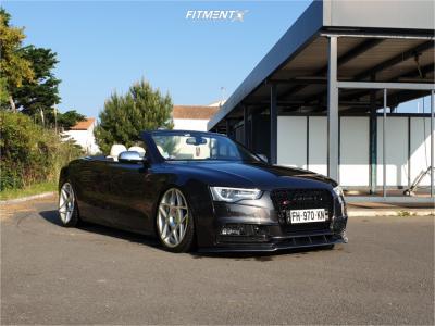 2013 Audi S5 - 20x9 25mm - 3SDM 0.08 - Air Suspension - 265/30R20
