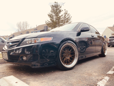 2006 Acura TSX - 18x9.5 30mm - Aodhan DS06 - Coilovers - 225/40R18