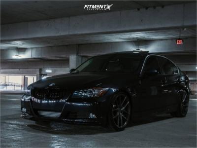 2008 BMW 335xi - 19x8.5 35mm - Niche Misano - Coilovers - 235/35R19