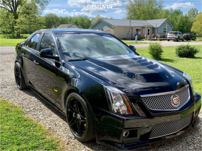2011 Cadillac CTS-V - 19x8.5 33mm - Marquee Luxury M3259 - Stock Suspension - 245/45R19