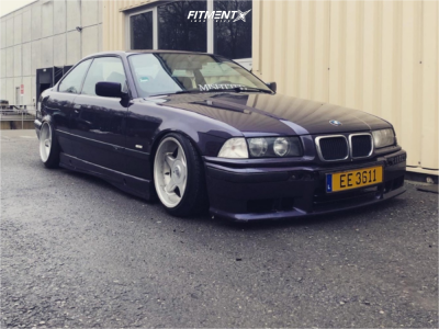 1995 BMW 320i - 16x9 15mm - Brock B-1 - Coilovers - 195/45R16