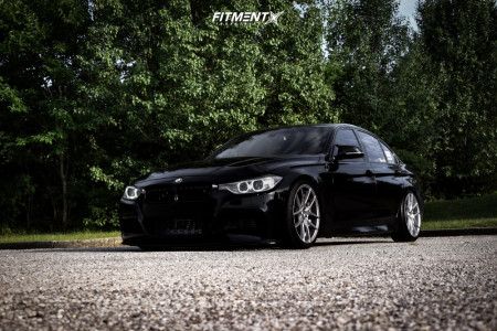 2014 BMW 335i xDrive - 19x8.5 35mm - Niche Targa - Coilovers - 225/40R19