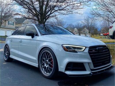 2017 Audi S3 - 19x8.5 38mm - BBS Rs-gt - Lowering Springs - 245/35R19