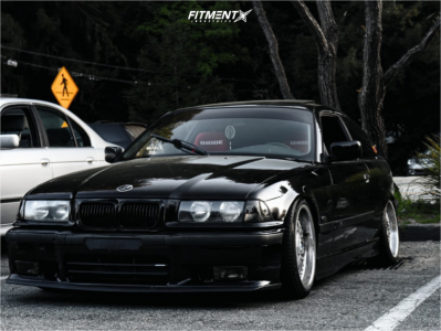 1998 BMW 323is - 17x8 20mm - BBS Rc090 - Coilovers - 205/40R17