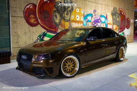 2012 Audi S4 - 19x9.5 35mm - JNC JNC005 - Lowering Springs - 235/35R19
