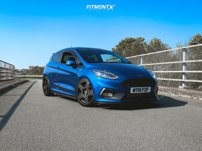 2019 Ford Fiesta - 18x8 40mm - Bola B10 - Coilovers - 235/40R18
