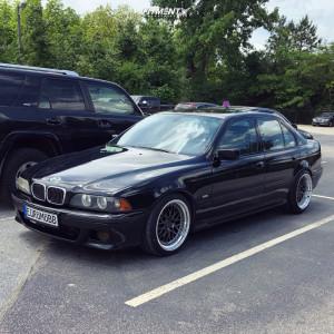 2001 BMW 540i - 18x9.5 22mm - ESR Sr01 - Coilovers - 235/40R18