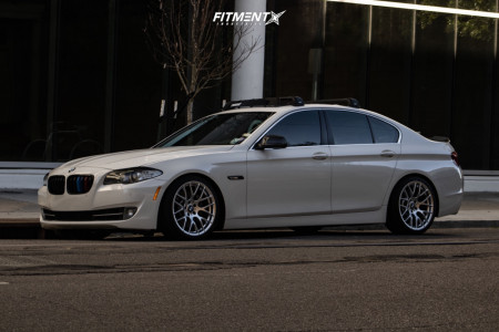 2011 BMW 535i - 19x9 18mm - Avant Garde M359 - Coilovers - 265/30R19
