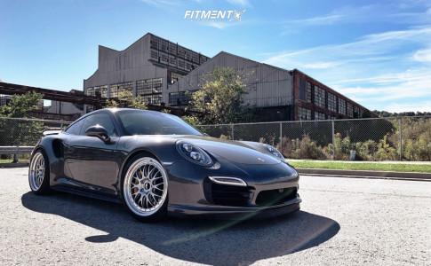 2014 Porsche 911 - 20x9 45mm - BBS E89 - Lowering Springs - 245/30R20