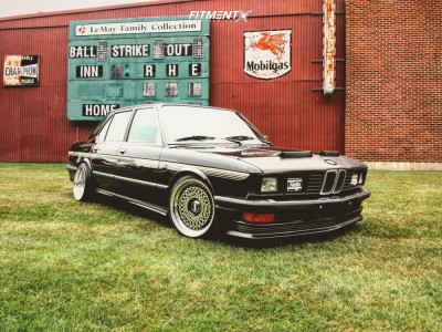 1985 BMW 528e - 17x9.5 20mm - BBS Rs - Coilovers - 215/40R17