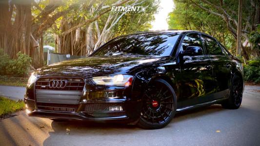 2015 Audi A4 Quattro - 19x8.5 45mm - Rotiform Las-r - Lowering Springs - 235/35R19