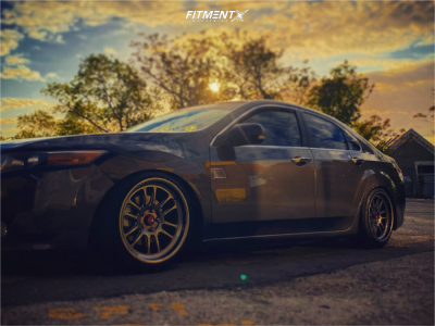2009 Acura TSX - 18x9.5 30mm - Aodhan Ah07 - Coilovers - 215/45R18