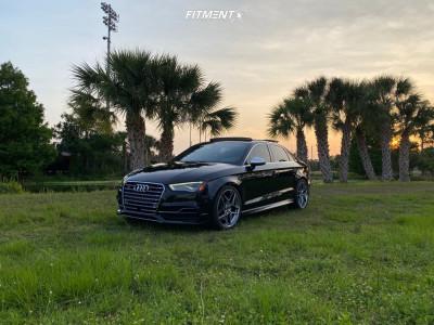 2015 Audi S3 - 19x8.5 47mm - HRE Ff11 - Lowering Springs - 255/35R19
