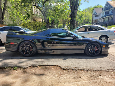 1991 Acura NSX - 17x9 38mm - Gram Lights 57DR - Coilovers - 215/40R17