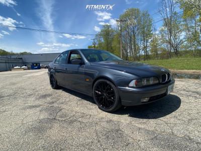 2001 BMW 540i - 19x8.5 35mm - Niche Gamma - Stock Suspension - 245/40R19
