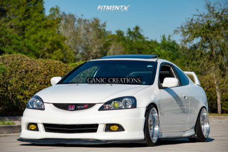 2006 Acura RSX - 17x9.5 35mm - Work VS XX - Coilovers - 205/40R17
