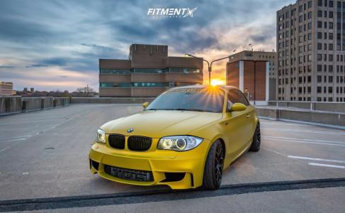 2009 BMW 135i - 18x7.5 40mm - VMR V710ff - Coilovers - 225/40R18