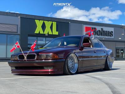 1996 BMW 740iL - 19x9.5 8mm - BBS Style 32 - Air Suspension - 205/35R19
