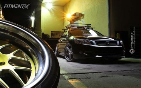 2010 Honda Accord - 20x9 20mm - K3 Projekt F2 - Lowered on Springs - 245/30R20