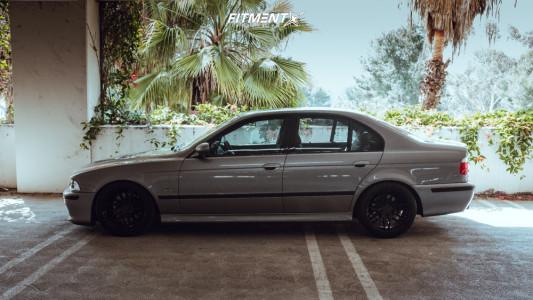 2002 BMW 540i - 18x8.5 15mm - Verde Reflex - Coilovers - 235/40R18