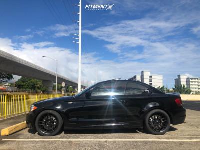 2012 BMW 135i - 18x8.5 45mm - Apex Arc-8 - Stock Suspension - 225/40R18