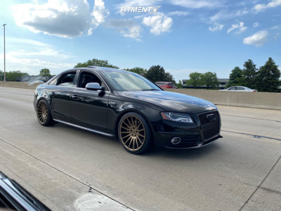 2011 Audi S4 - 19x9.5 35mm - Niche Form - Lowering Springs - 265/45R19