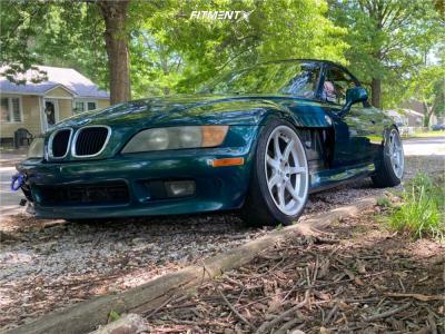 1997 BMW Z3 - 19x9 30mm - Breyton Visions - Coilovers - 245/35R19