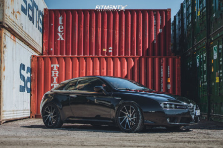 2009 Alfa Romeo 159 - 19x8.5 38mm - ABS 388 - Coilovers - 235/35R19