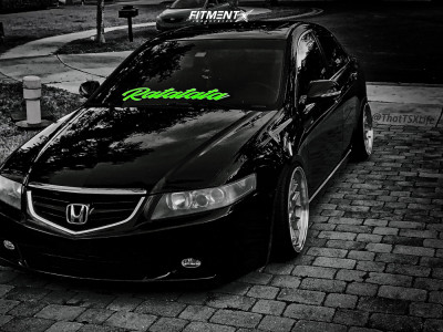 2005 Acura TSX - 18x9.5 15mm - Aodhan DS06 - Coilovers - 215/35R18