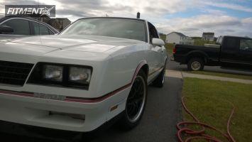 1986 Chevrolet Monte Carlo - 18x8 20mm - TSW Valencia - Lowered on Springs - 245/45R18