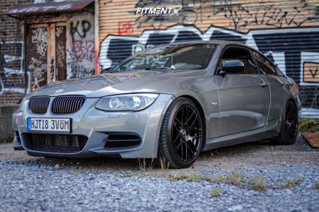 2011 BMW 335is - 18x8.5 35mm - Curva C300 - Coilovers - 225/40R18