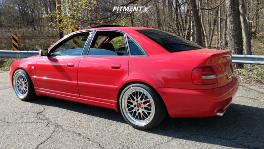 2001 Audi S4 - 18x8.5 30mm - BBS Lm - Coilovers - 225/40R18
