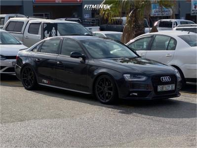 2013 Audi A4 - 19x8.5 45mm - Vorsteiner V-ff101 - Coilovers - 235/35R19