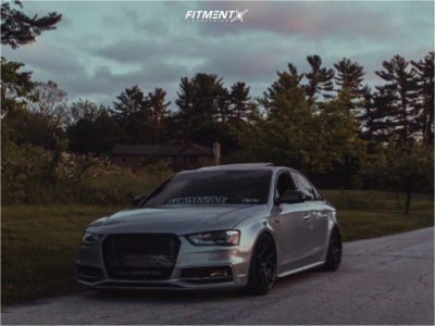 2016 Audi S4 - 19x10 35mm - Rotiform Kps - Coilovers - 225/35R19