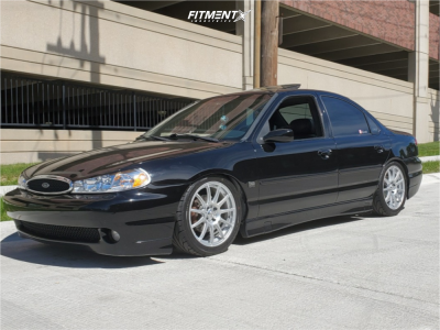 1999 Ford Contour - 17x7 40mm - Maxxim Winner - Coilovers - 215/45R17